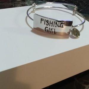 Jewelry - Fishing Girl Bracelet NEW!